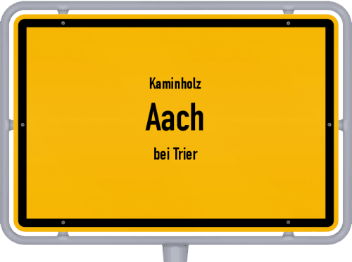 Kaminholz & Brennholz-Angebote in Aach (bei Trier), Großes Bild