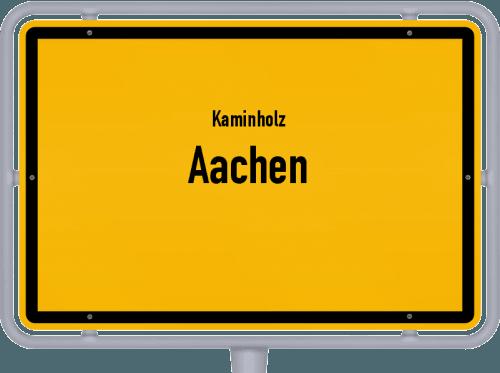 Kaminholz & Brennholz-Angebote in Aachen, Großes Bild