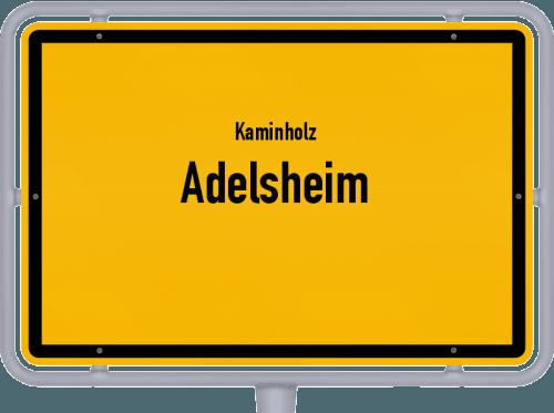 Kaminholz & Brennholz-Angebote in Adelsheim, Großes Bild