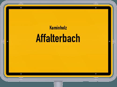 Kaminholz & Brennholz-Angebote in Affalterbach, Großes Bild
