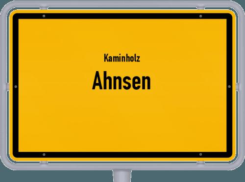 Kaminholz & Brennholz-Angebote in Ahnsen, Großes Bild