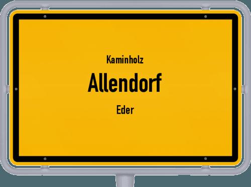Kaminholz & Brennholz-Angebote in Allendorf (Eder), Großes Bild
