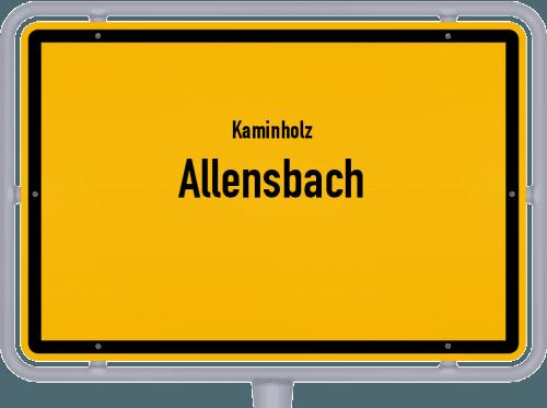 Kaminholz & Brennholz-Angebote in Allensbach, Großes Bild