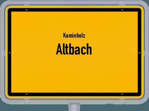 Kaminholz & Brennholz-Angebote in Altbach, Großes Bild