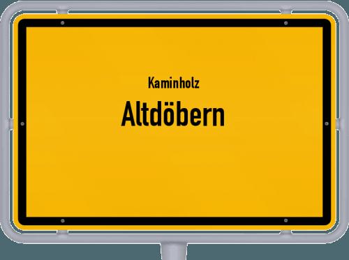 Kaminholz & Brennholz-Angebote in Altdöbern, Großes Bild