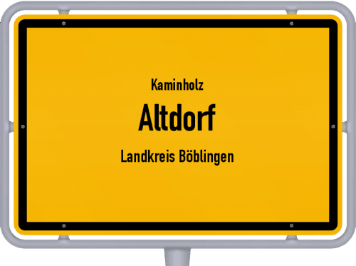 Kaminholz & Brennholz-Angebote in Altdorf (Landkreis Böblingen), Großes Bild