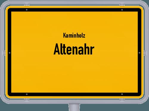 Kaminholz & Brennholz-Angebote in Altenahr, Großes Bild