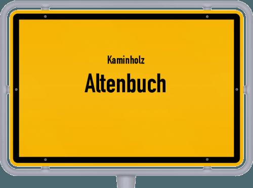 Kaminholz & Brennholz-Angebote in Altenbuch, Großes Bild