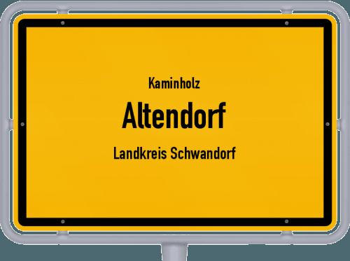 Kaminholz & Brennholz-Angebote in Altendorf (Landkreis Schwandorf), Großes Bild