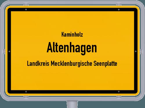 Kaminholz & Brennholz-Angebote in Altenhagen (Landkreis Mecklenburgische Seenplatte), Großes Bild
