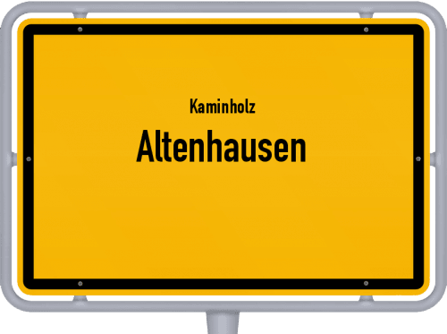 Kaminholz & Brennholz-Angebote in Altenhausen, Großes Bild