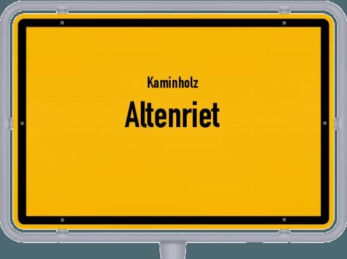 Kaminholz & Brennholz-Angebote in Altenriet, Großes Bild