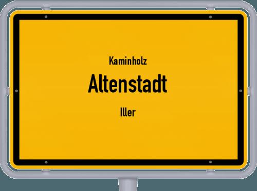 Kaminholz & Brennholz-Angebote in Altenstadt (Iller), Großes Bild