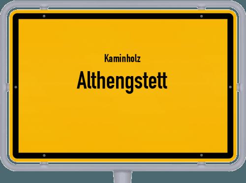 Kaminholz & Brennholz-Angebote in Althengstett, Großes Bild
