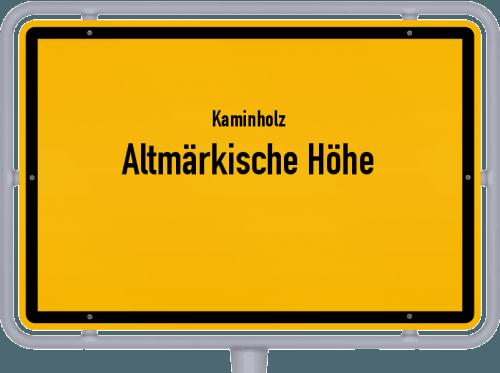 Kaminholz & Brennholz-Angebote in Altmärkische Höhe, Großes Bild