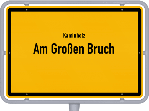 Kaminholz & Brennholz-Angebote in Am Großen Bruch, Großes Bild