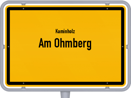 Kaminholz & Brennholz-Angebote in Am Ohmberg, Großes Bild
