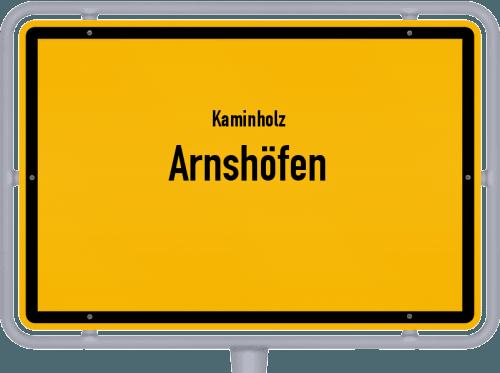 Kaminholz & Brennholz-Angebote in Arnshöfen, Großes Bild
