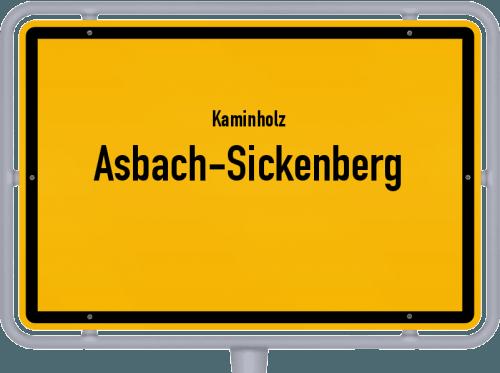 Kaminholz & Brennholz-Angebote in Asbach-Sickenberg, Großes Bild