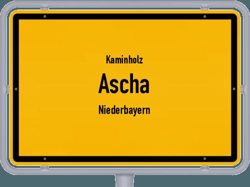 Kaminholz & Brennholz-Angebote in Ascha (Niederbayern), Großes Bild