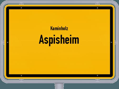 Kaminholz & Brennholz-Angebote in Aspisheim, Großes Bild