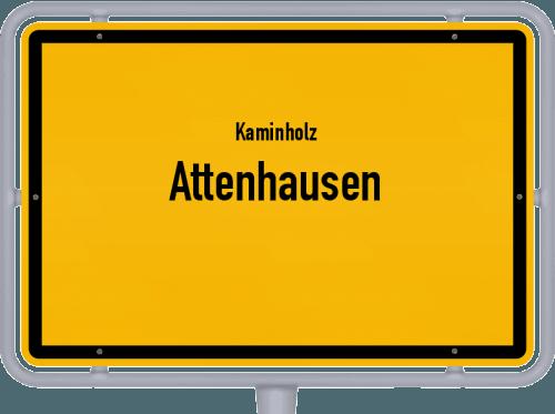 Kaminholz & Brennholz-Angebote in Attenhausen, Großes Bild