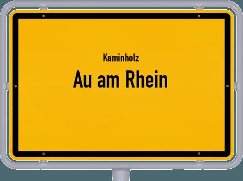 Kaminholz & Brennholz-Angebote in Au am Rhein, Großes Bild