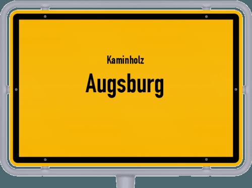 Kaminholz & Brennholz-Angebote in Augsburg, Großes Bild