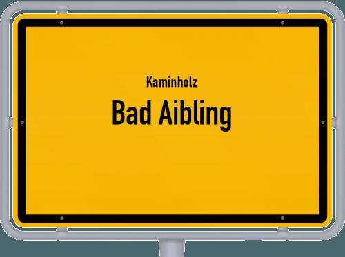 Kaminholz & Brennholz-Angebote in Bad Aibling, Großes Bild