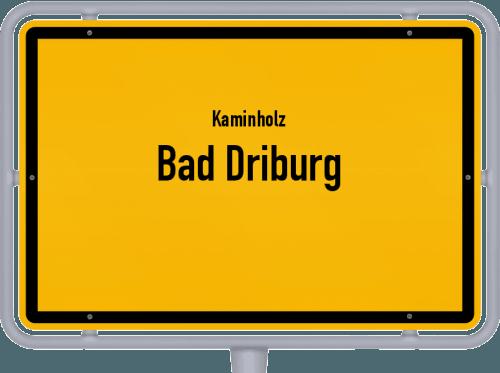 Kaminholz & Brennholz-Angebote in Bad Driburg, Großes Bild