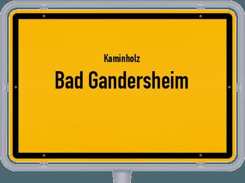 Kaminholz & Brennholz-Angebote in Bad Gandersheim, Großes Bild