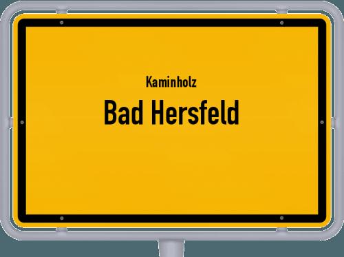 Kaminholz & Brennholz-Angebote in Bad Hersfeld, Großes Bild