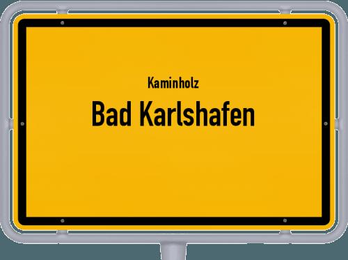 Kaminholz & Brennholz-Angebote in Bad Karlshafen, Großes Bild