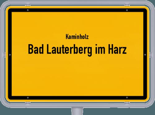 Kaminholz & Brennholz-Angebote in Bad Lauterberg im Harz, Großes Bild