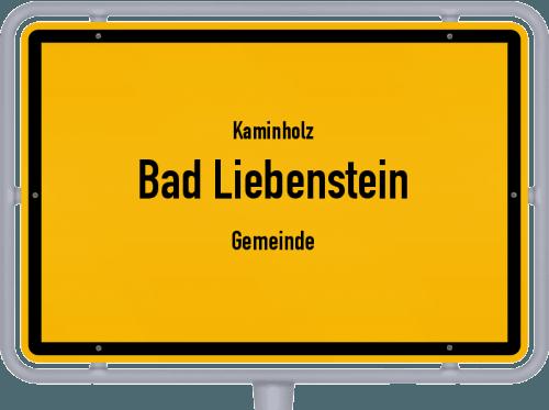 Kaminholz & Brennholz-Angebote in Bad Liebenstein (Gemeinde), Großes Bild