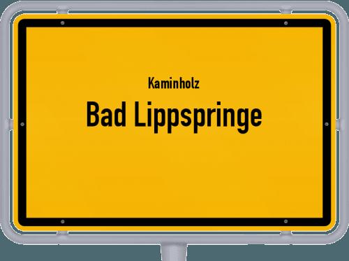 Kaminholz & Brennholz-Angebote in Bad Lippspringe, Großes Bild