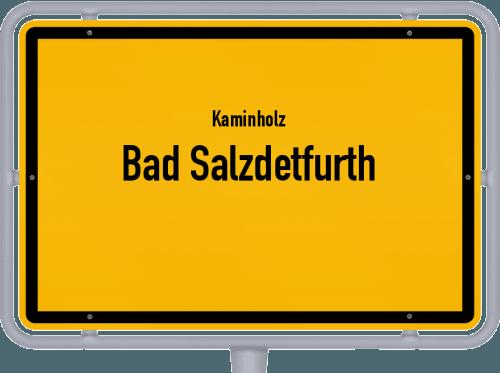 Kaminholz & Brennholz-Angebote in Bad Salzdetfurth, Großes Bild