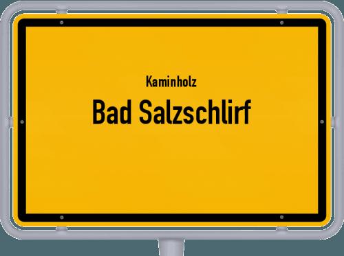 Kaminholz & Brennholz-Angebote in Bad Salzschlirf, Großes Bild