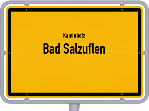 Kaminholz & Brennholz-Angebote in Bad Salzuflen, Großes Bild