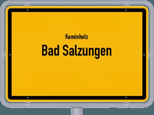Kaminholz & Brennholz-Angebote in Bad Salzungen, Großes Bild