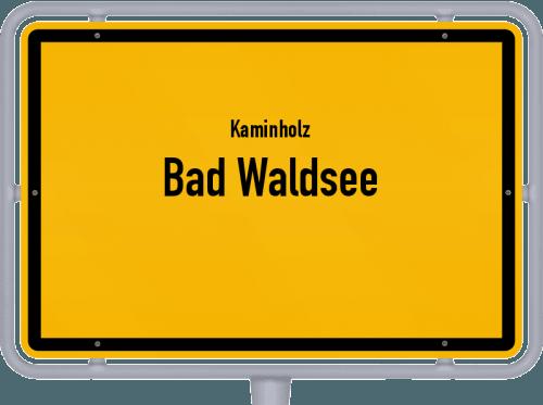 Kaminholz & Brennholz-Angebote in Bad Waldsee, Großes Bild