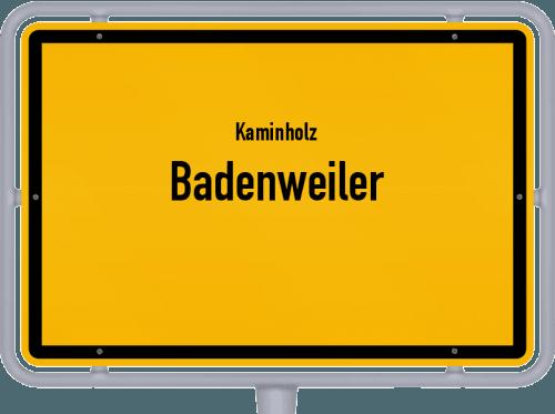 Kaminholz & Brennholz-Angebote in Badenweiler, Großes Bild