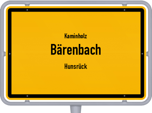 Kaminholz & Brennholz-Angebote in Bärenbach (Hunsrück), Großes Bild