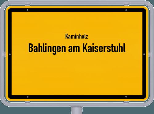 Kaminholz & Brennholz-Angebote in Bahlingen am Kaiserstuhl, Großes Bild