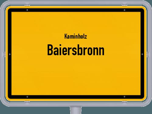Kaminholz & Brennholz-Angebote in Baiersbronn, Großes Bild