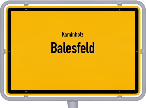 Kaminholz & Brennholz-Angebote in Balesfeld, Großes Bild