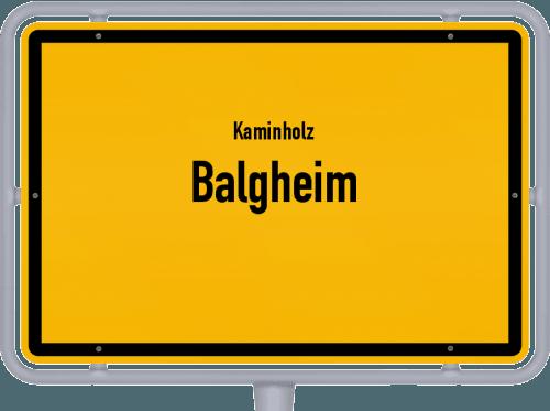 Kaminholz & Brennholz-Angebote in Balgheim, Großes Bild
