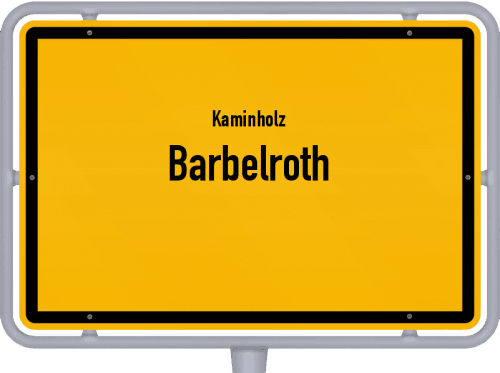 Kaminholz & Brennholz-Angebote in Barbelroth, Großes Bild
