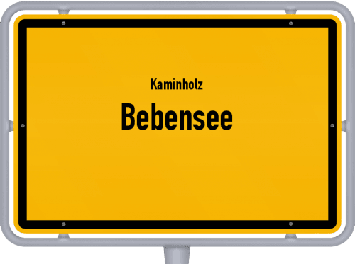 Kaminholz & Brennholz-Angebote in Bebensee, Großes Bild