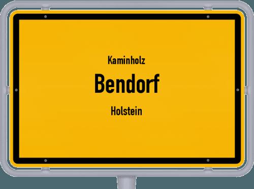 Kaminholz & Brennholz-Angebote in Bendorf (Holstein), Großes Bild